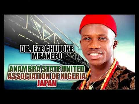 Prince Chijioke Mbanefo - Anambra State United Association Of Nigeria Japan