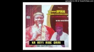 Apinjo Okenwa Oduma - Ka Anyi Ribe Oriri | Igbo Highlife Songs 2020