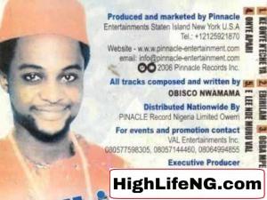 Obisco Nwamama - ONYE APARI (Owerri Bongo)