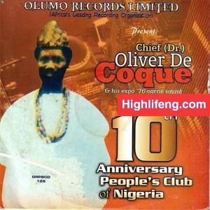 Chief Dr Oliver De Coque - Libe Olili Na Echi Ebuka (Ribe Oriri)