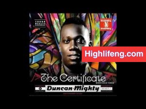 Duncan Mighty - The Certificate