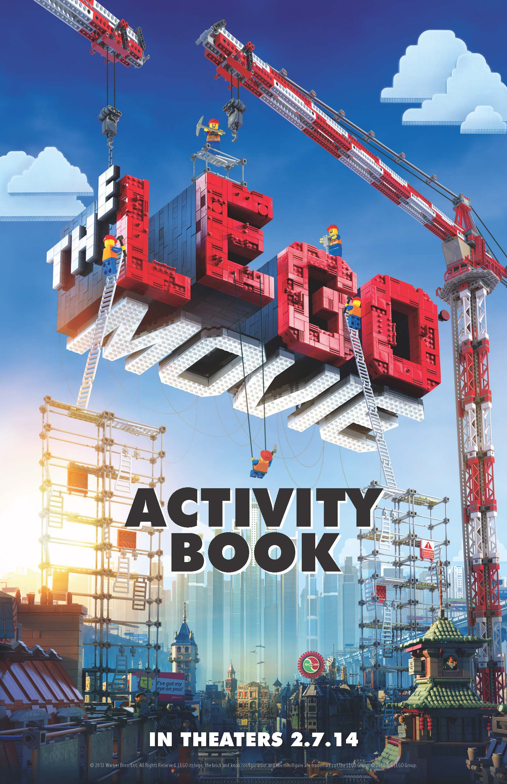 The Lego Movie Printables Activity And Coloring Pages