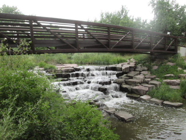 The Canal intersects with Cherry Creek