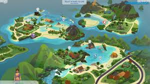 The Sims 4 Island Living Update v1.55 Crack Codex Free Download