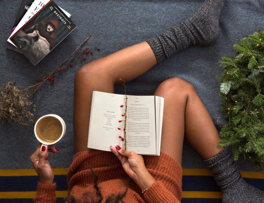 a highly sensitive person relaxes during the holidays