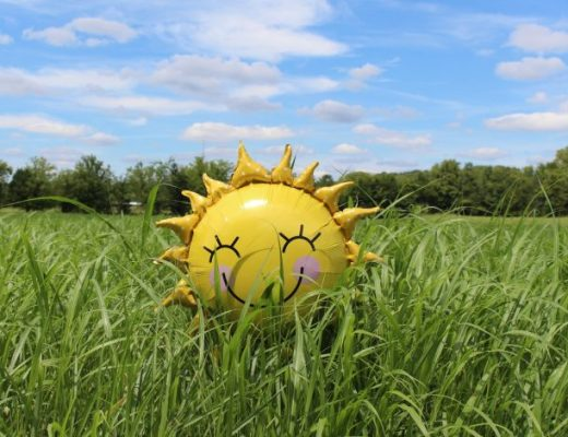 a yellow balloon represents a highly sensitive person making a difference