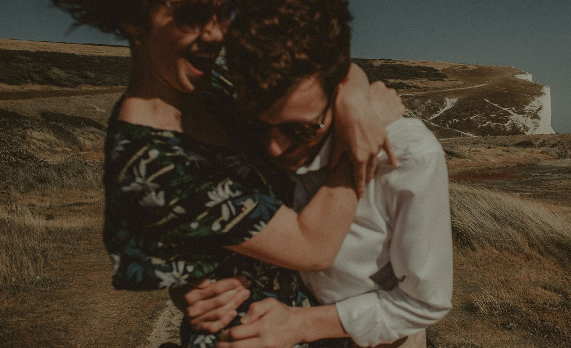 A highly sensitive person in a healthy relationship