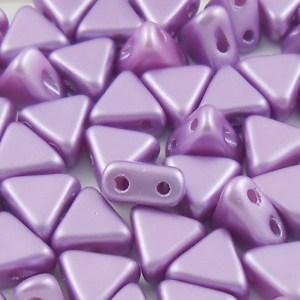 czech-kheops-2-hole-beads-satin-lilac