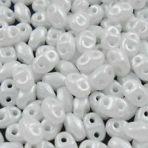 czech-miniduo-beads-white-pearl-satin
