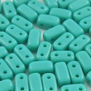 czechmates-2-hole-brick-beads-persian-turquoise