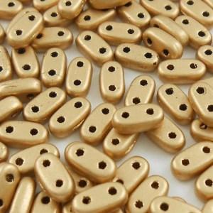 czechmates-bar-beads-matte-metallic-gold