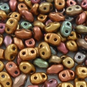 czech-miniduo-beads-golden-violet-rainbow