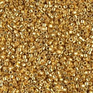 Brown | Gold | Cream 11/0 Delica