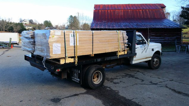 Lots of wood - High Mountain Millwork Company, Franklin NC - #2832