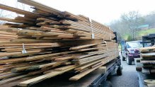Lots of wood - High Mountain Millwork Company, Franklin NC - #530