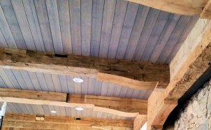 Custom Ceiling by High Mountain Millwork Company - Franklin, NC #736
