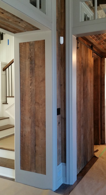 Custom Wood Paneling by High Mountain Millwork Company - Franklin, NC #742