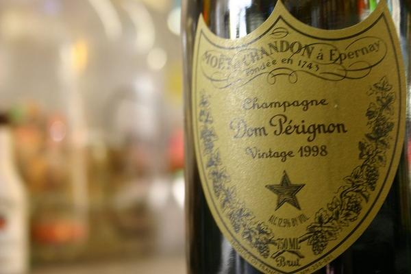 dom perignon champagne brand name origin