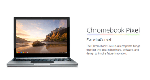 Just released: New Chromebook Pixel name explained