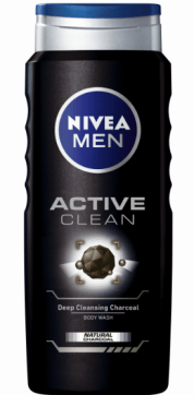 JABÓN CORPORAL ACTIVE CLEAN DE NIVEA MEN