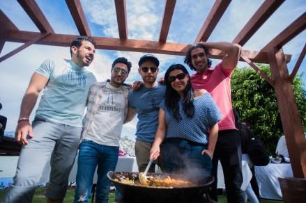 Juan Carlos Mendoza, Alex Esparza, Luis Ernesto Franco, Gabriel Rojo de la Vega y Liz Dur+ín