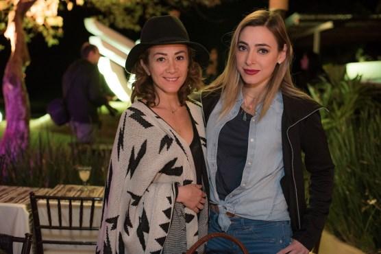 Mariana Avila y Edna Monroy
