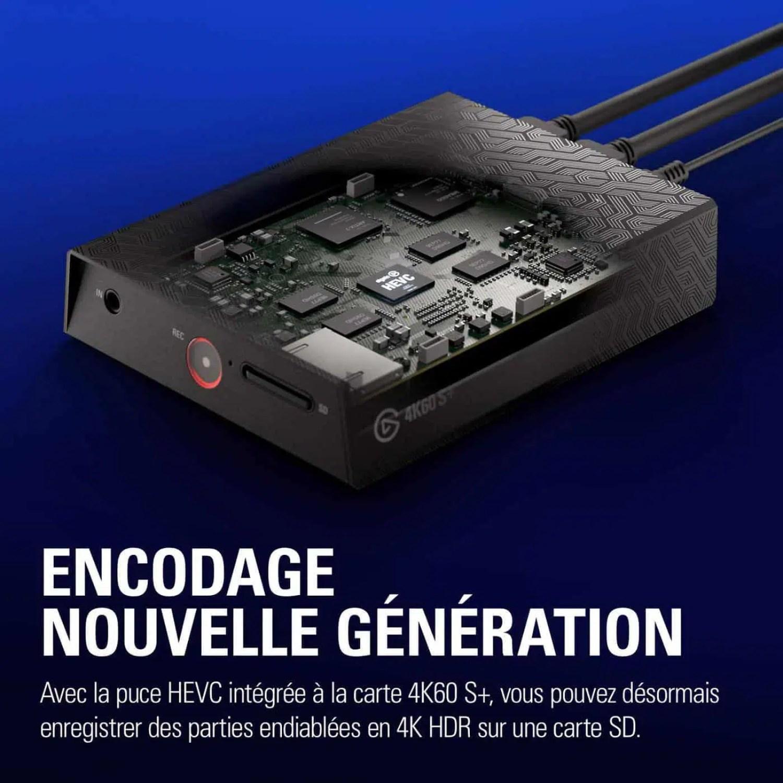 Elgato Game Capture 4K60 S + - La conception des produits