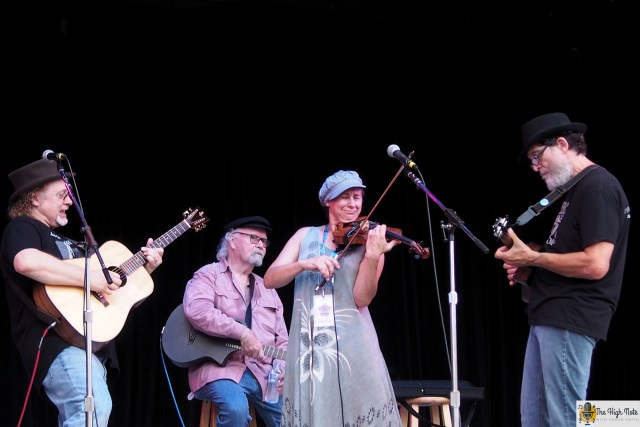 Tom Paxton and The Don Juans perform at the 57th annual Philadelphia Folk Festival.
