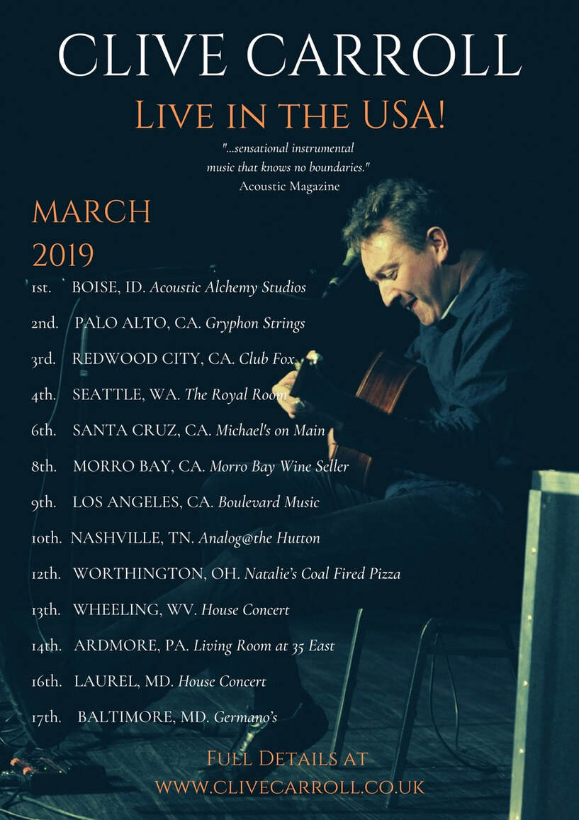Clive Carroll American Tour