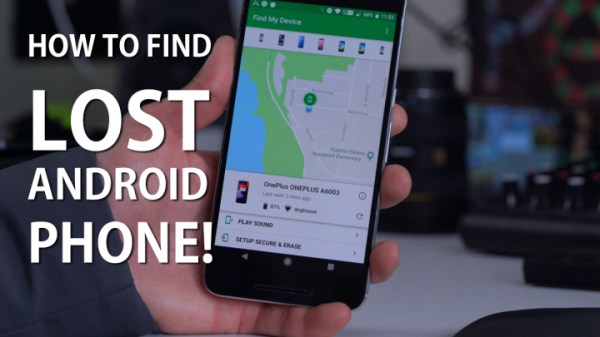 How to Find a Lost Android Phone! [Find My Phone App ...