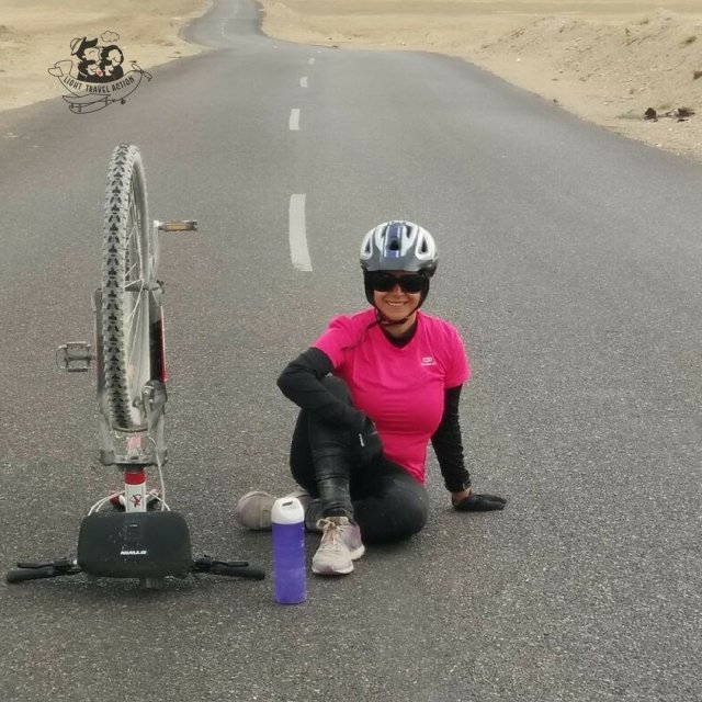 Manali to Leh cycling - high on himalayas