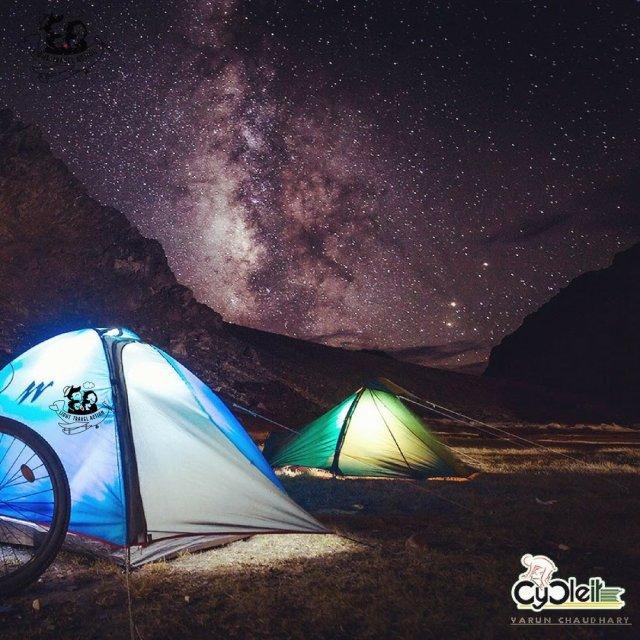 Manali to Leh cycling - high on himalayas