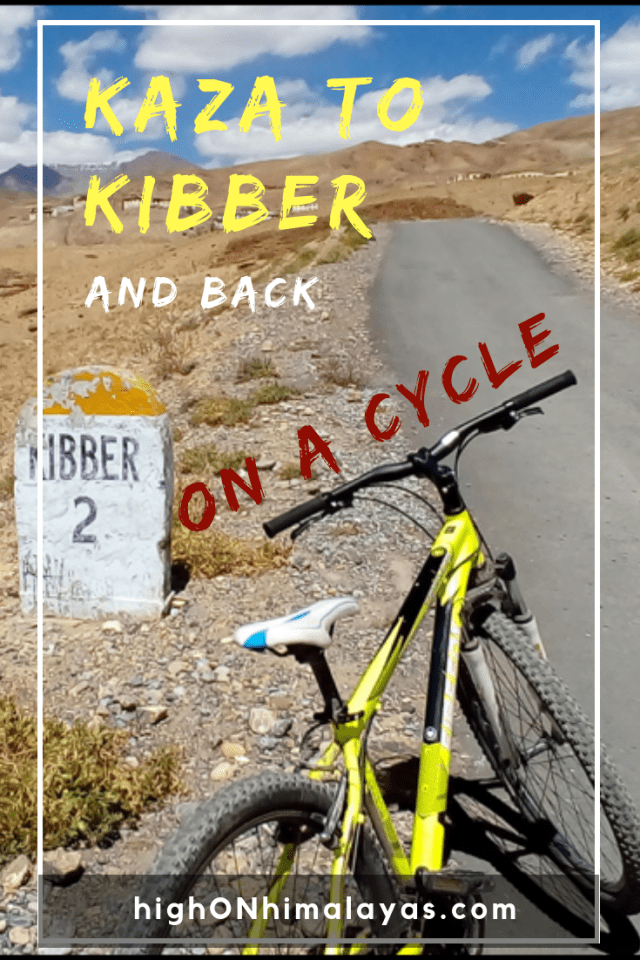 After a day's rest, I made a sudden decision to cycle from Kaza to Kibber, India. In hindsight, it was perhaps one of the best unplanned decisions I had ever made. #India #Himalayas #Travel