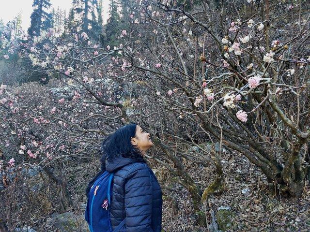 Debjani The Vagabong High on Himalayas Women Travellers Tribe