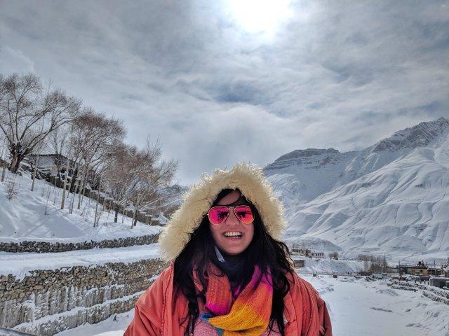 Ankita Kumar High on Himalayas Women Travellers Tribe