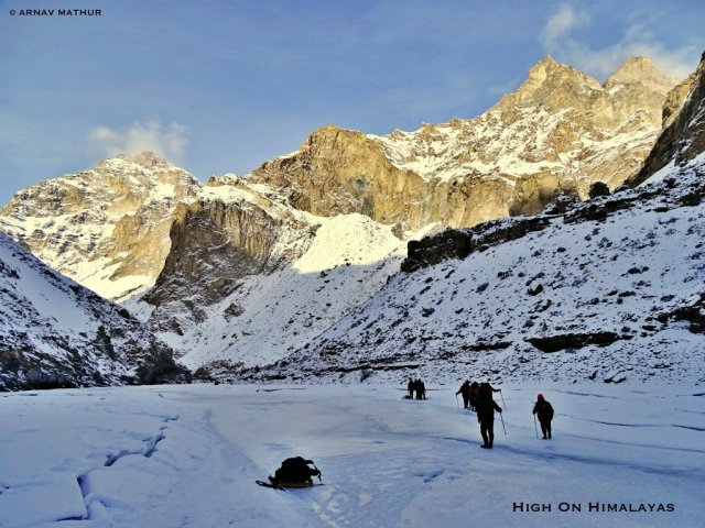 The Chadar Trek Experience | High on Himalayas