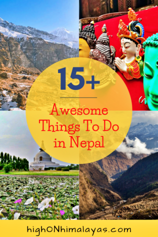 Best Things to do in Nepal | High on Himalayas