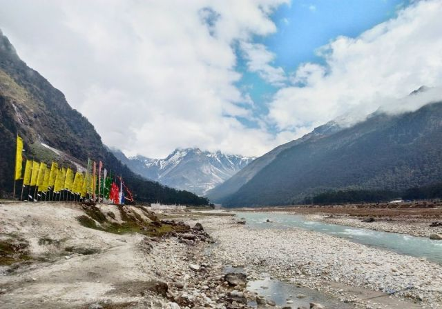 The calming sight of Yumthang Valley