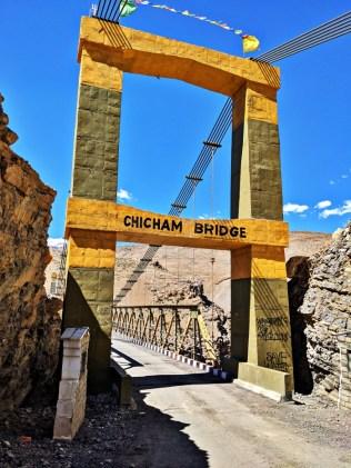 Chicham Bridge Spiti Valley