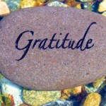 The topic is Gratitude…