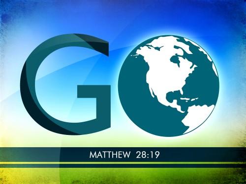Go Make Disciples - matthew 28:19