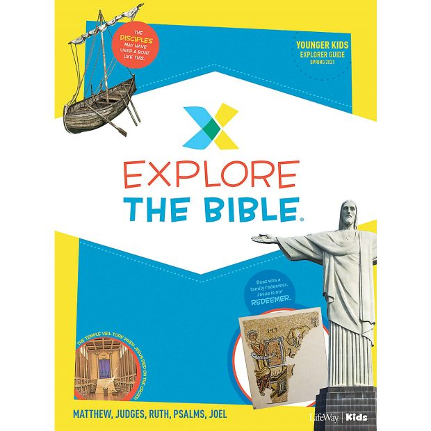 Sunday School for Children starts in march with Explore the Bible curriculum