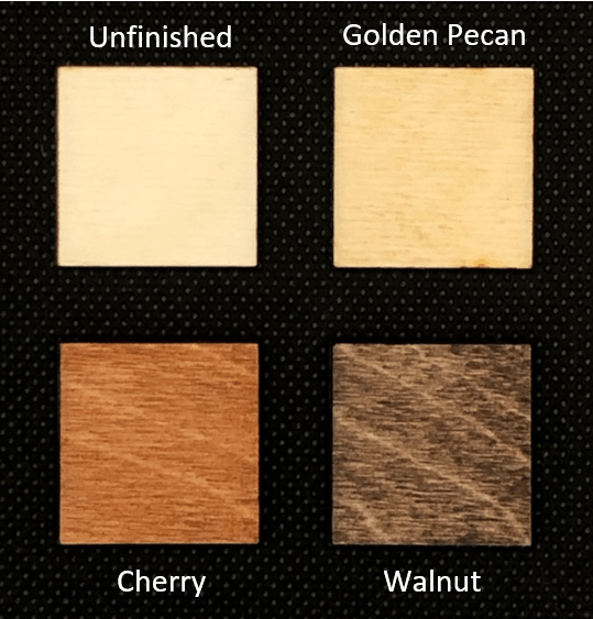 Wood Topper Materials Labeled