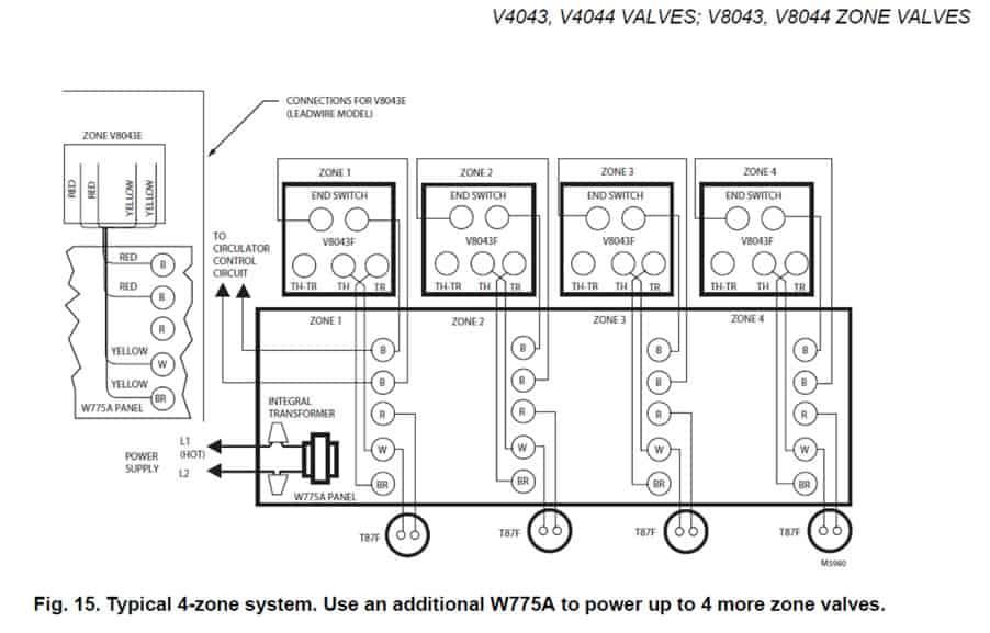 Circuit Diagram Zone Valve | Wiring Diagram