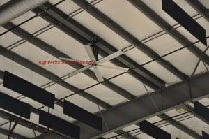 Ceiling fan in a garage hvac airflow aloadofball Images
