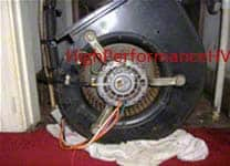 air handler unit blower motor