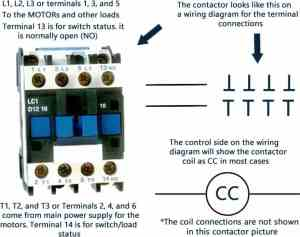 Compressor contactor wiring diagram high performance hvac heating compressor contactor wiring diagram details asfbconference2016 Gallery