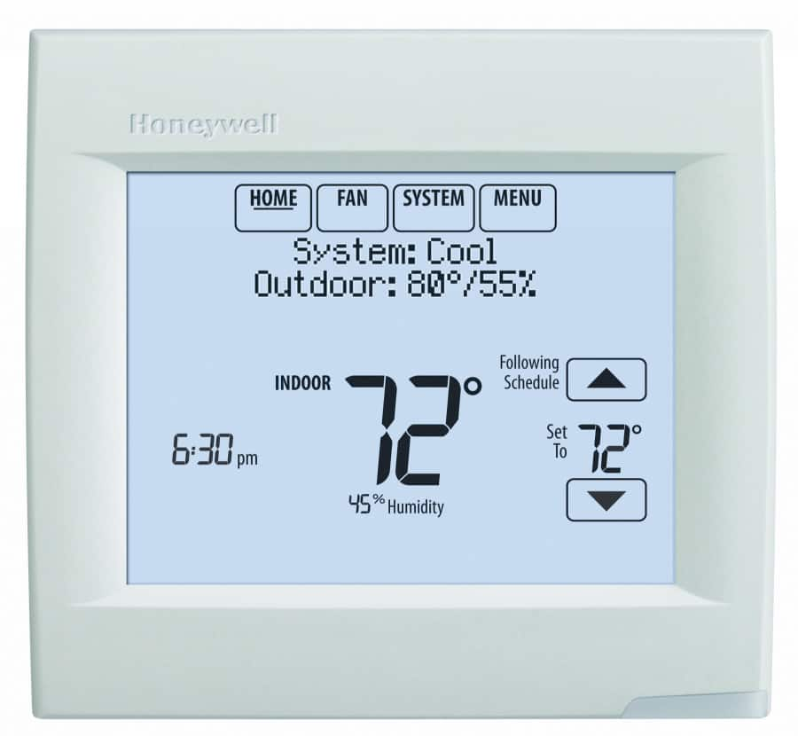 honeywell heat pump thermostat troubleshooting two stage carrier rh highperformancehvac com honeywell thermostat heat pump t8011r1006 manual honeywell heat pump thermostat manual rth6350