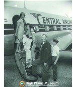 High Plains Museum | PM153TRANS Dedication of Central Airlines Service