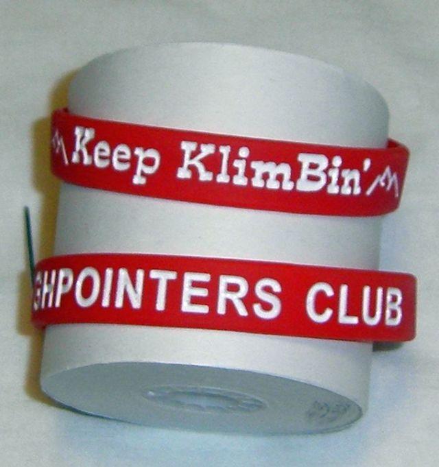 Highpointers Wristband